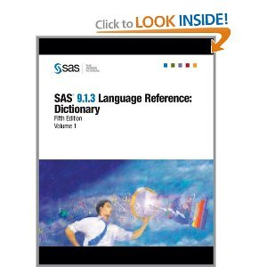 Sas 9.1.3 Language Reference: Dictionary free download