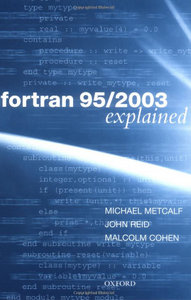 Fortran 95/2003 Explained (Numerical Mathematics and Scientific Computation) free download