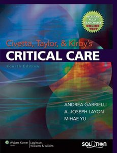 Civetta, Taylor and Kirby's Critical Care, 4th edition free download