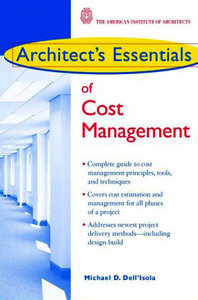Architect's Essentials of Cost Management free download