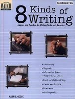 8 Kinds of Writing: Lessons and Practice for Writing Tests and Samples free download
