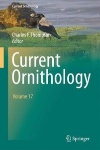 Current Ornithology (Volume 17) free download