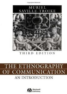 The Ethnography of Communication: An Introduction, 3 Edition free download