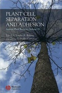 Annual Plant Reviews, Plant Cell Separation and Adhesion free download