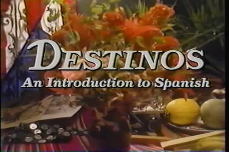 Destinos - An Introduction to Spanish Telecourse [52 Episodes] free download