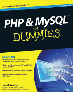 PHP MySQL For Dummies, 4th Edition free download