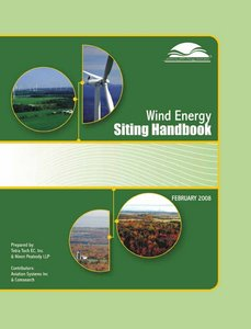 Wind energuy siting handbook free download