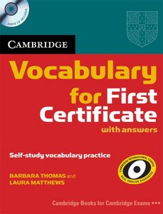 Vocabulary for First Certificate with answers
