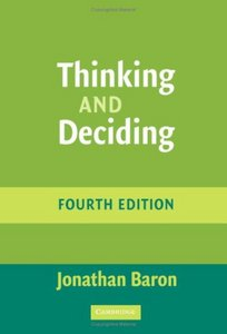 Thinking and Deciding free download