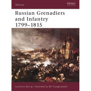 Russian Grenadiers and Infantry 1799-1815 free download