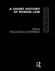 A Short History of Roman Law free download
