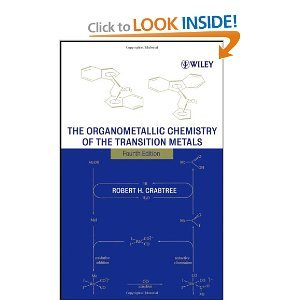 The Organometallic Chemistry of the Transition Metals free download