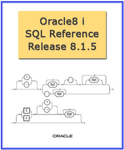 Oracle8i: SQL reference, release 8.1.5 free download