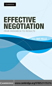 Effective Negotiation: From Research to Results free download