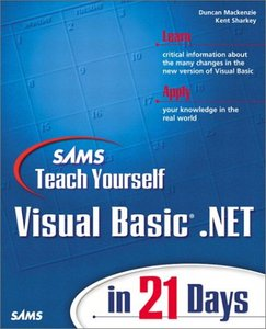 Teach Yourself Visual Basic .NET in 21 Days free download