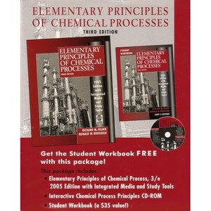 Elementary Principles of Chemical Processes 3rd edition free download