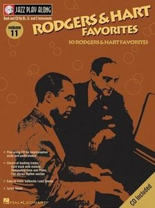 Jazz Play Along Vol. 11 - Rodgers Hart Favorites free download