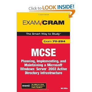MCSA/MCSE 70-294 Exam Cram free download