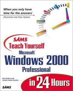 Sams Teach Yourself Microsoft Windows 2000 Professional in 24 Hours free download