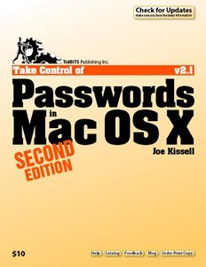 Take Control of Passwords in Mac OS X free download