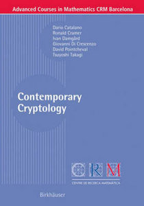 Contemporary Cryptology free download