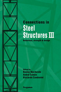 Connections in Steel Structures III free download