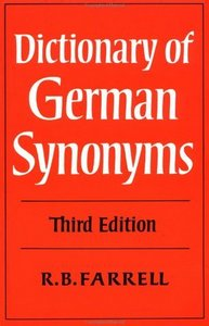 Dictionary of German Synonyms free download
