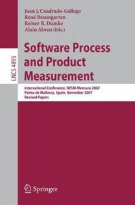 Software Process and Product Measurement free download