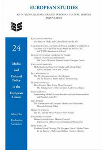 Katharine Sarikakis - Media and Cultural Policy in the European Union free download