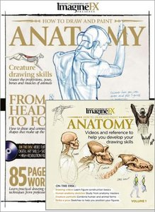 ImagineFX - How to Draw and Paint Anatomy ( CD) 2010 free download