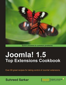 Joomla! 1.5 Top Extensions Cookbook free download