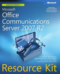 Microsoft Office Communications Server 2007 R2 Resource Kit free download