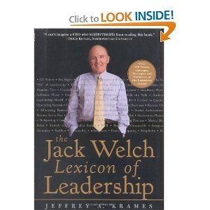 The Jack Welch Lexicon of Leadership free download