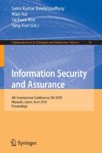 Information Security and Assurance free download