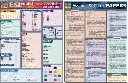 quick study english as a second language essays and esl-grammar
