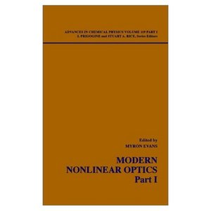 Advances in Chemical Physics: Modern Nonlinear Optics free download