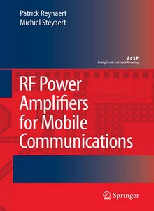 RF Power Amplifiers for Mobile Communications free download