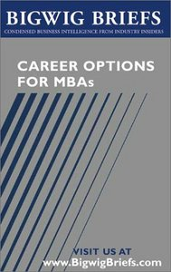 Career Options for MBAs free download