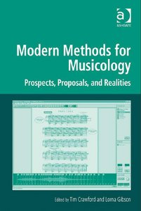 Modern Methods for Musicology free download