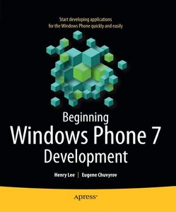 Beginning Windows Phone 7 Development free download