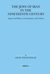 The Jews of Iran in the Nineteenth Century (Brill's Series in Jewish Studies) free download