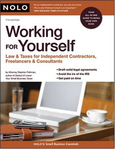 Working for Yourself: Lawamp; Taxes for Independent Contractors, Freelancersamp; Consultants free download