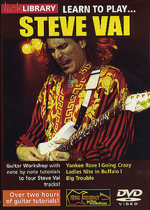 Lick Library - Learn To Play Steve Vai (2004) free download