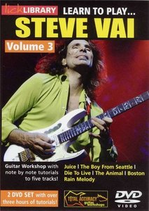 Lick Library - Learn To Play Steve Vai [Volume 3] (2007) free download