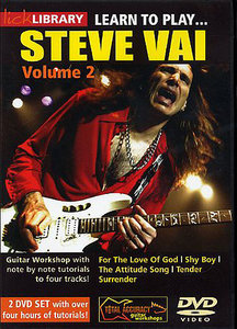 Lick Library - Learn To Play Steve Vai [Volume 2] (2005) free download