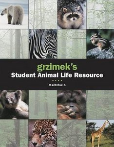 Mammals - 5 Volume Set (Grzimek's Student Animal Life Resource) free download
