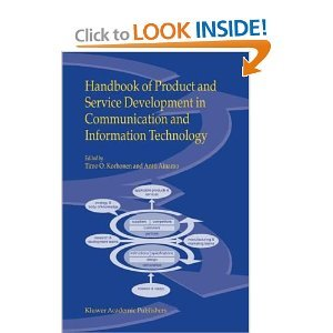 Handbook of Product and Service Development in Communication and Information Technology free download