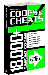 Codesamp; Cheats Winter 2010: Prima Official Game Guide free download