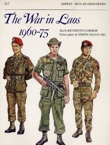 Men at Arms 217: The War in Laos 1960-75 free download