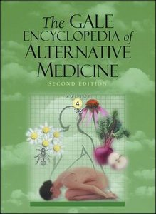 The G A L E  Encyclopedia of Alternative Medicine - 4 Volume set free download